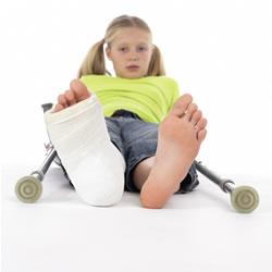 Children accident claim