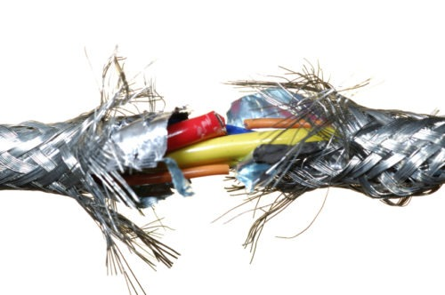Faulty wire claim