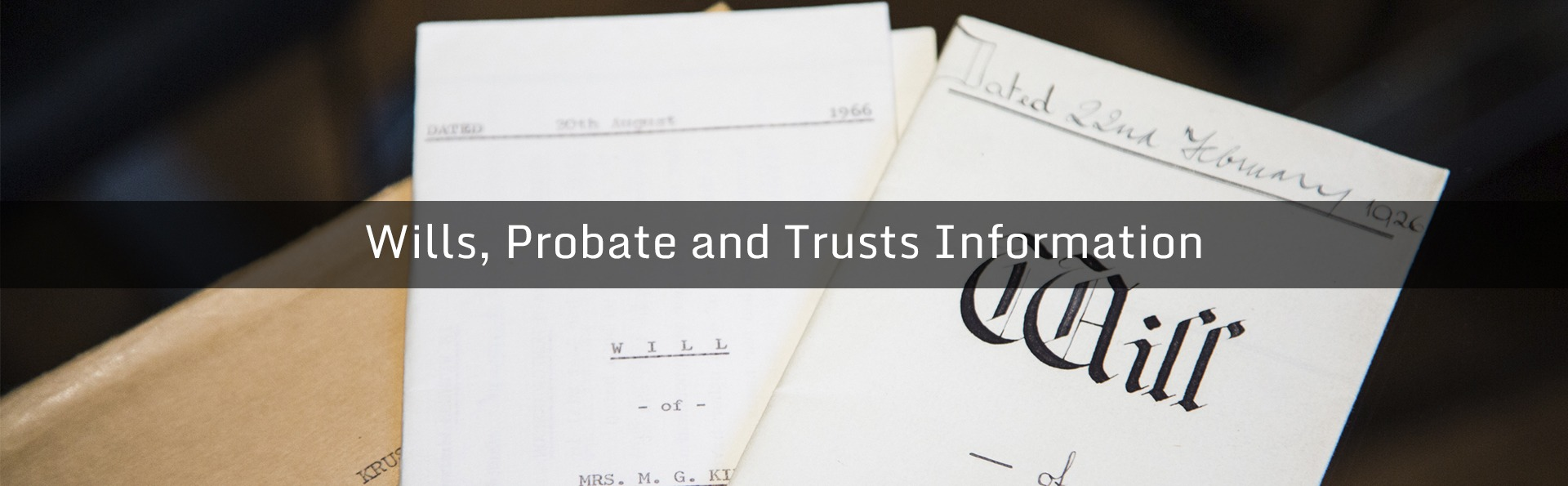 Wills Probate and Trusts information Bloomsbury Law UK